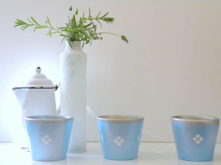 DIY French Herb Pots