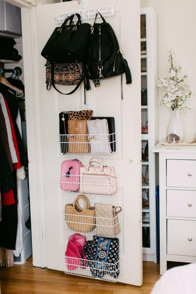 Door Closet Storage