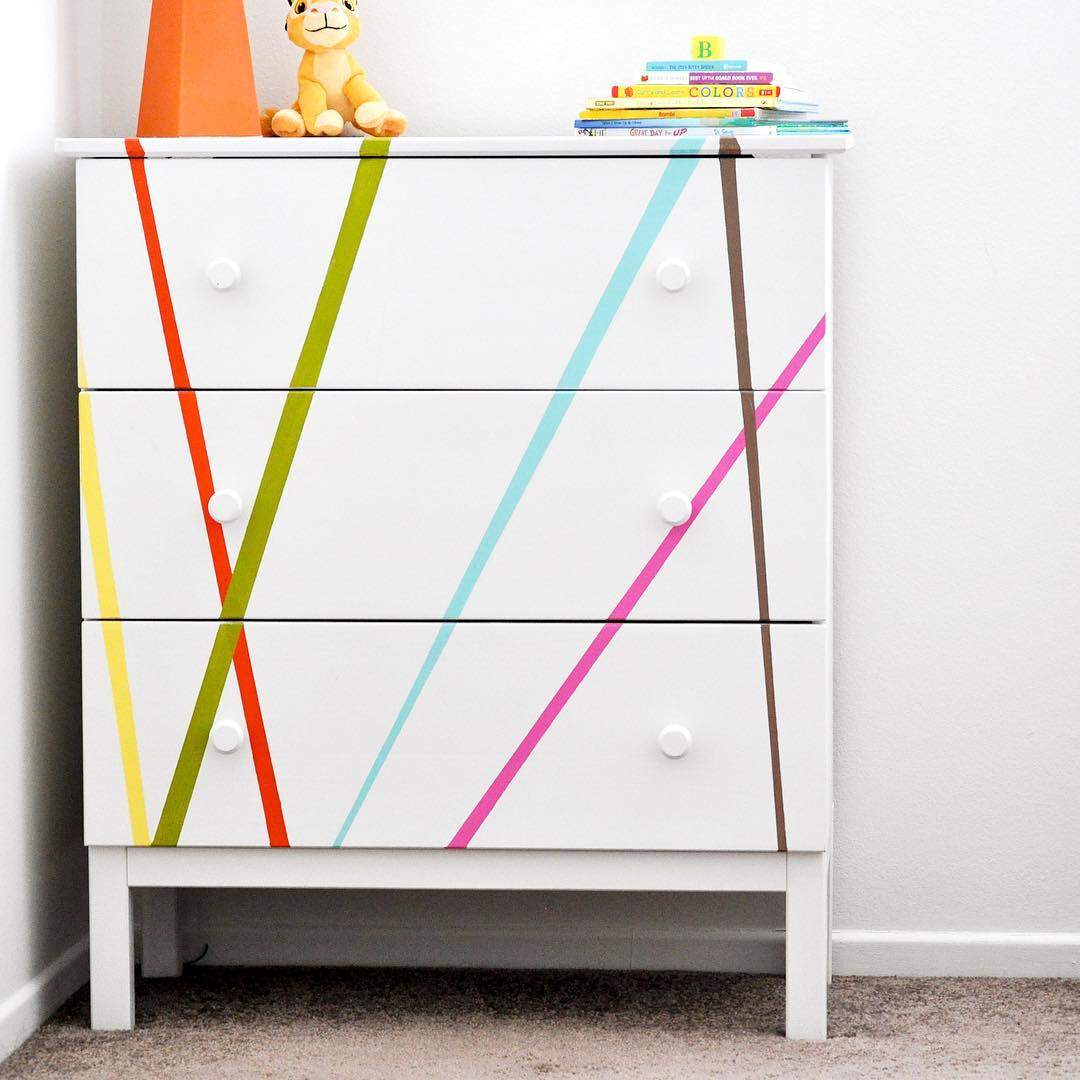 Kid's Abstract Dresser