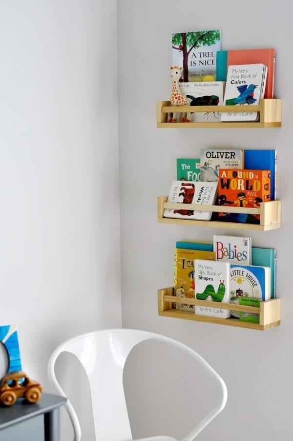 spice rack bookshelf
