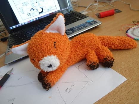 Super-Cute Fox