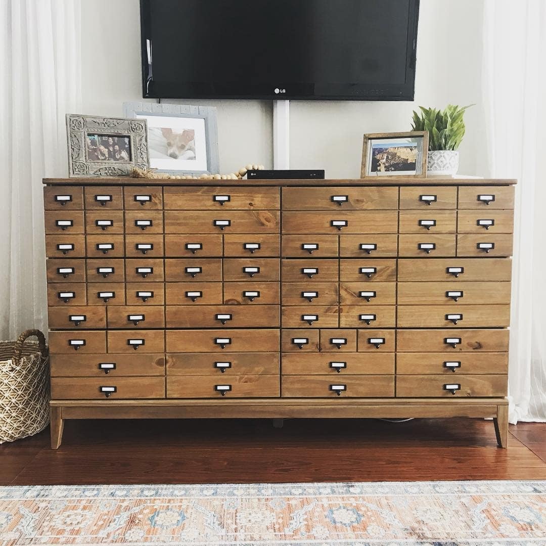 Classic Wooden IKEA Tarva Hack