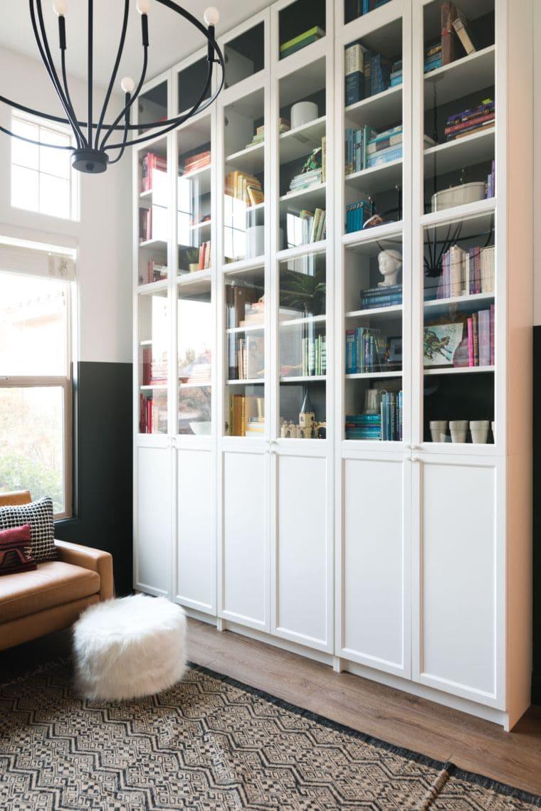 Floor-to-Ceiling Bookshelf