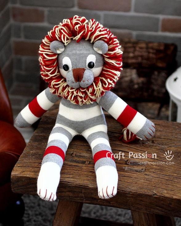 Plushie Lion