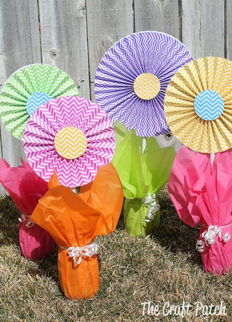Vibrant Flower Centerpieces