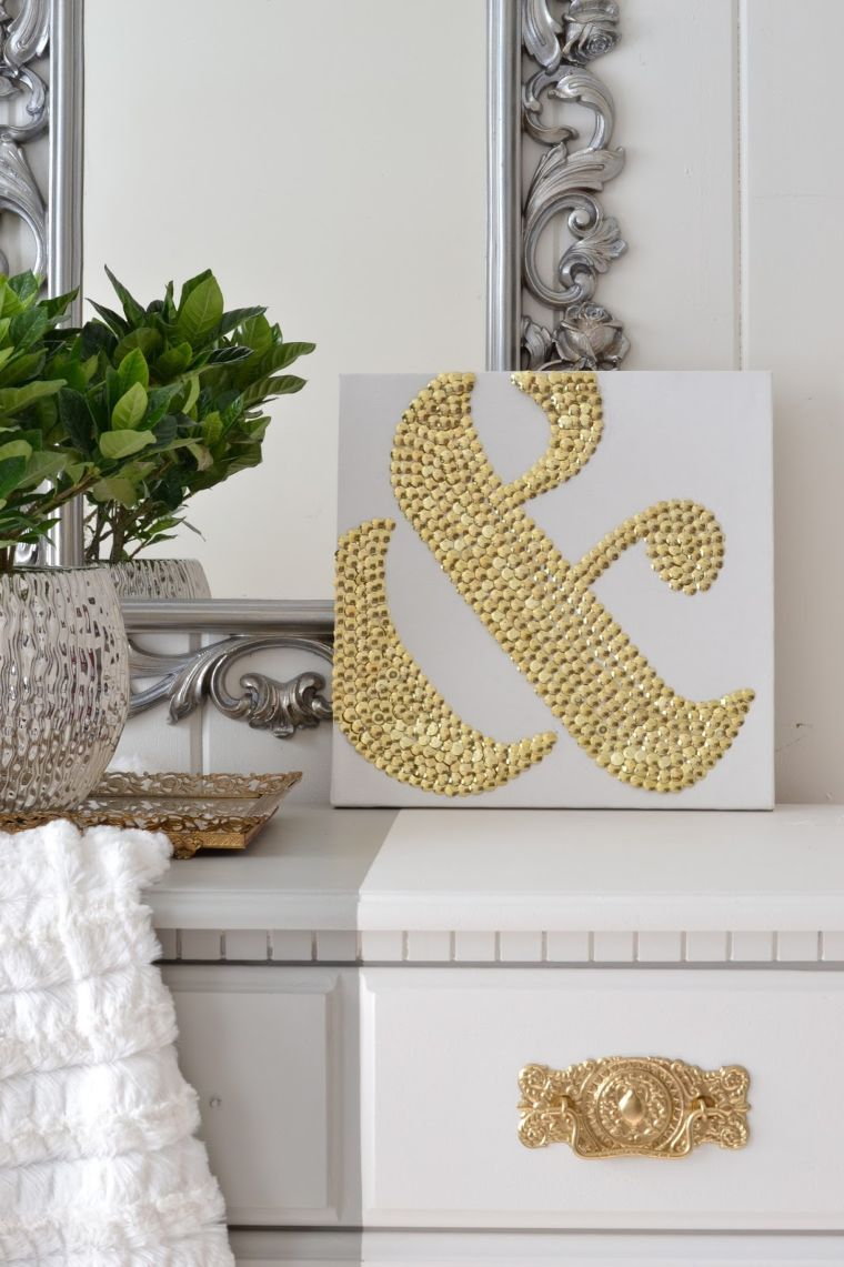 Thumbtack Ampersand Art