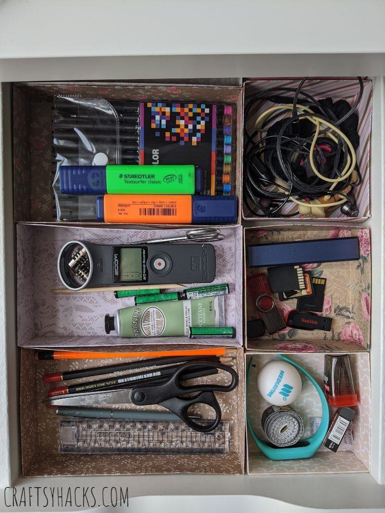 organized drawer