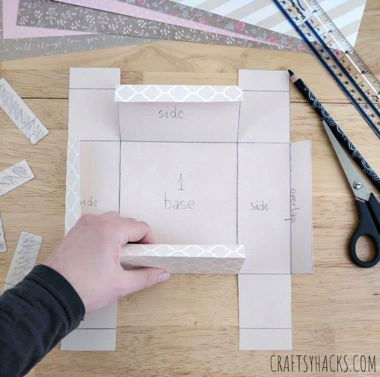 folding divider sides