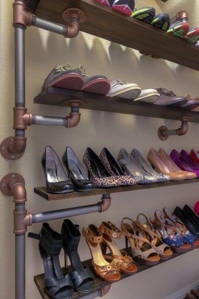 Iron Pipe Shelves