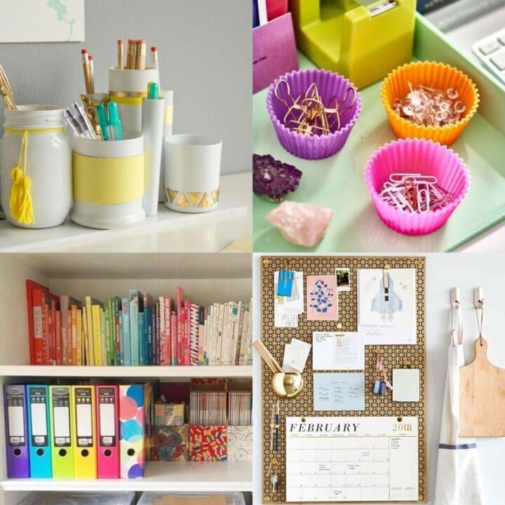 40 Creative Office Organization Ideas