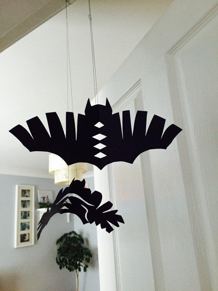 Hanging Paper Bats