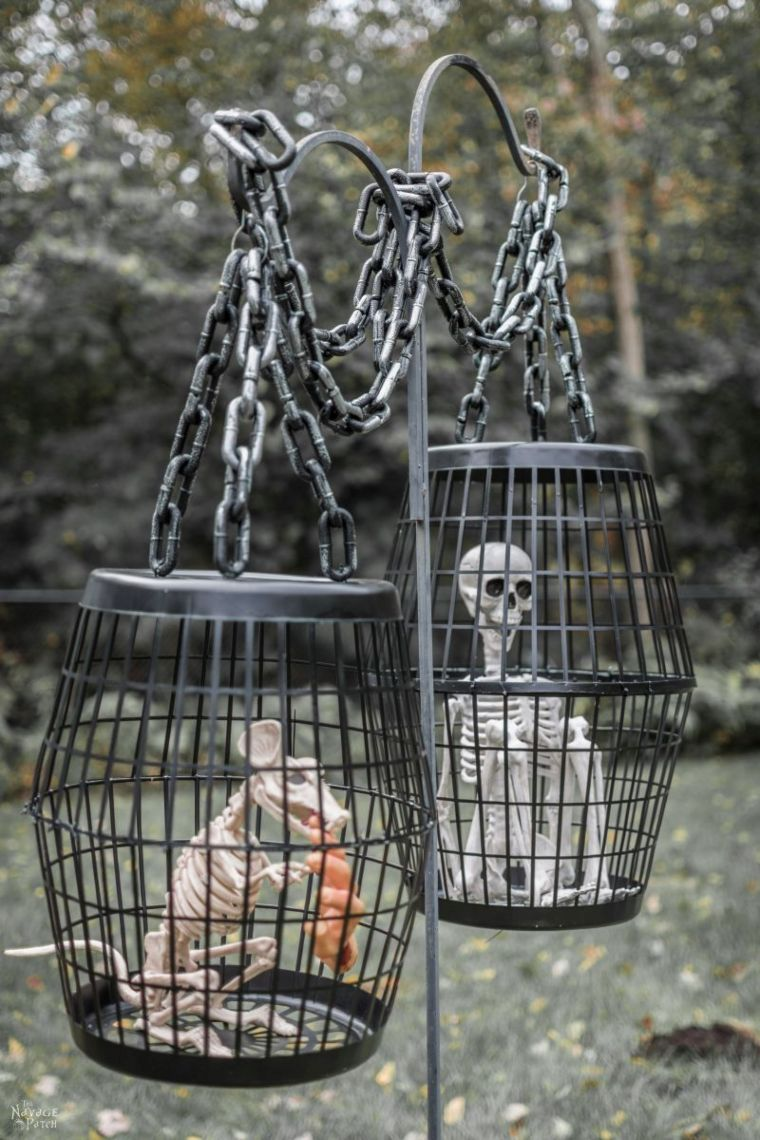 Creepy Hanging Cages