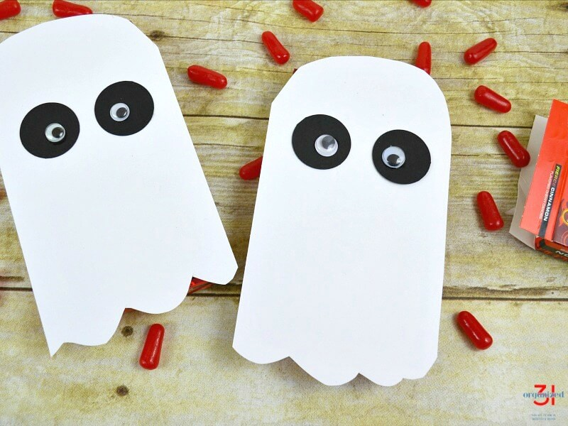 Ghost Covered Candies