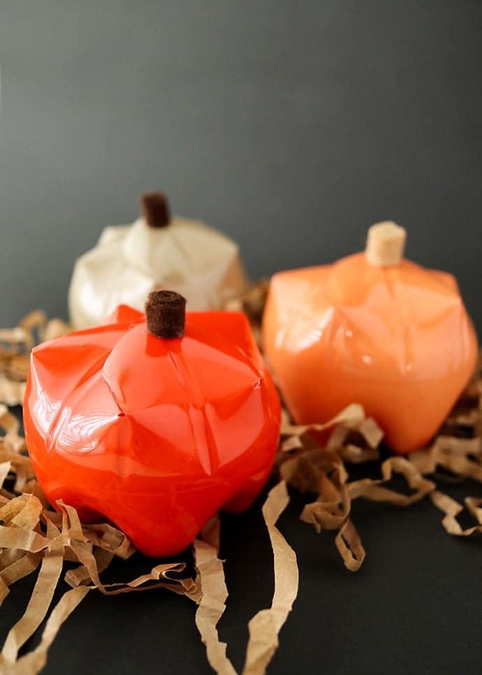 Pumpkin Gift Holders