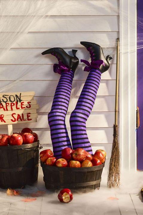 Spooky Witch Legs
