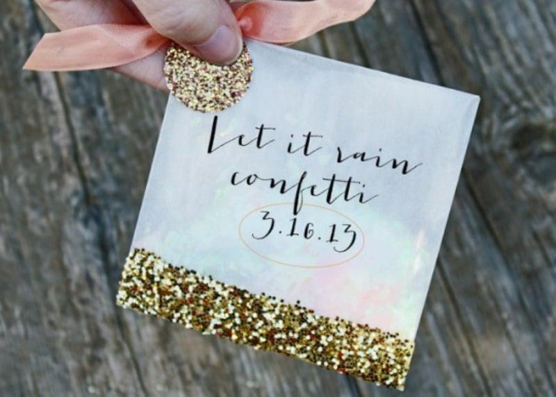 Wedding Confetti Bags