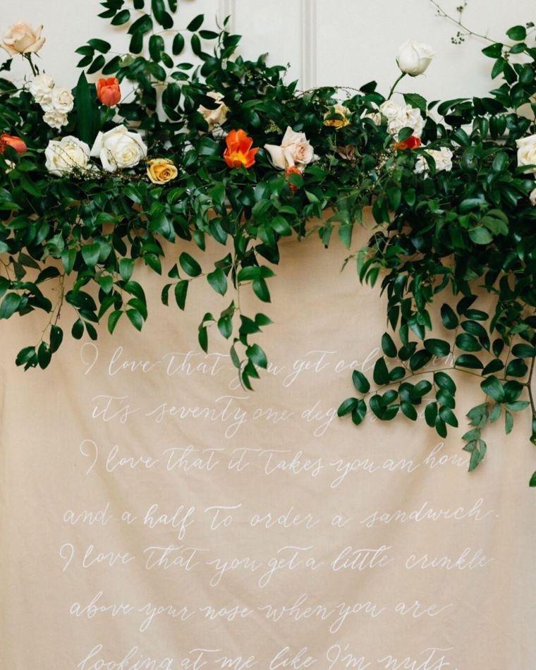 Loving Words on Fabric