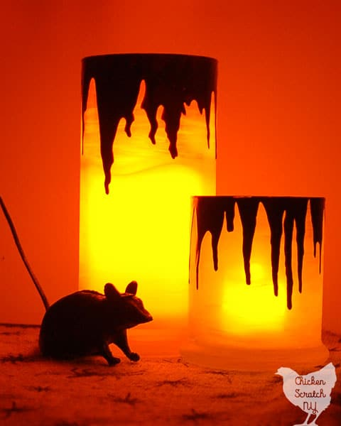 Gory Candle Holders