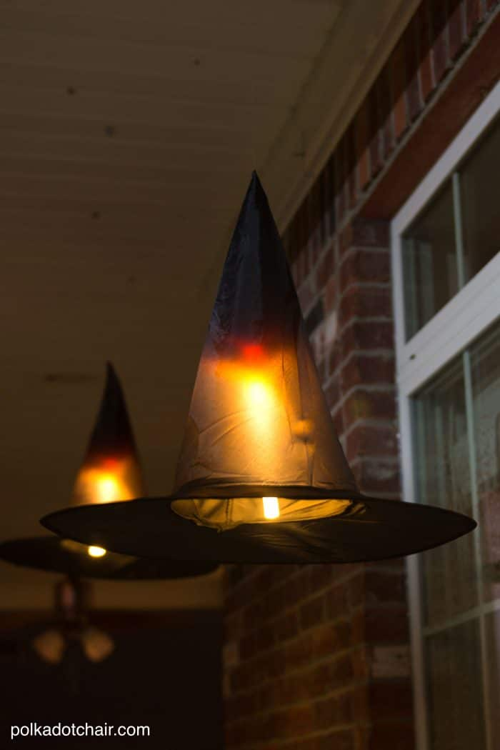 Light Up Witch Hats