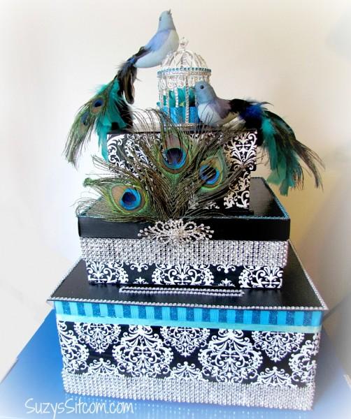 Festive Wedding Card box