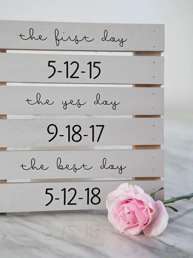 Vinyl Wedding Signs