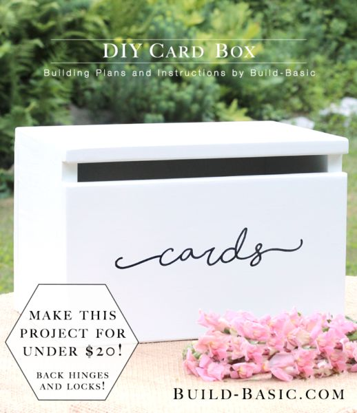 DIY mailbox card holder