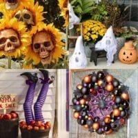 20 Cheap Outdoor Halloween Decorations