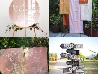 20 Creative DIY Wedding Sign Ideas