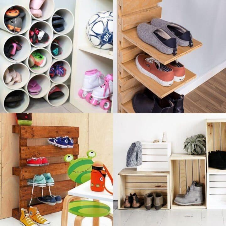 20 Incredible Shoe Storage Hacks