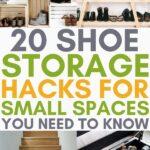 hacks for shoe storage