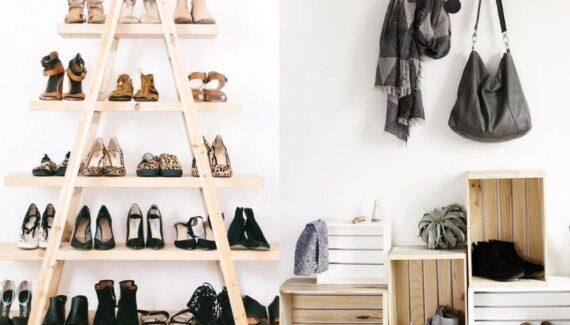 shoe storage hacks