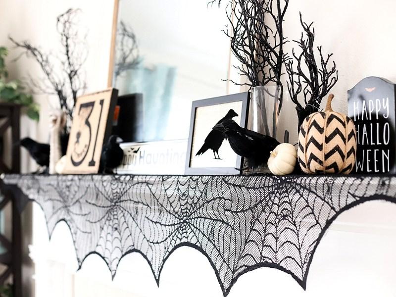 Halloween Mantel Decor