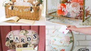 20 Wedding Card Box Ideas