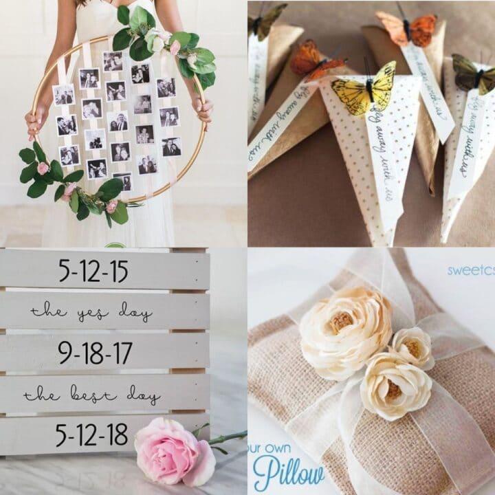 20 Wedding Craft Ideas