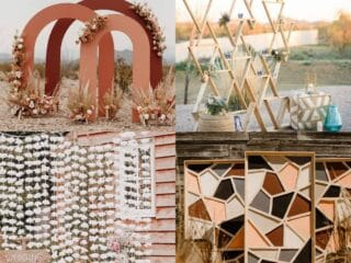 20 Wonderful Wedding Backdrop Ideas