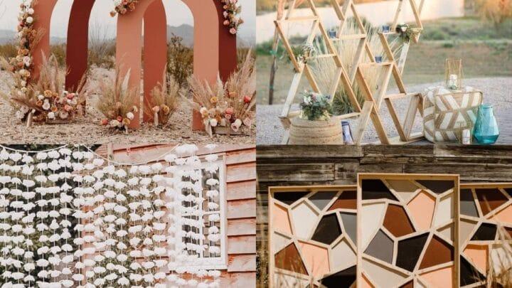20 Wonderful Wedding Backdrop Ideas
