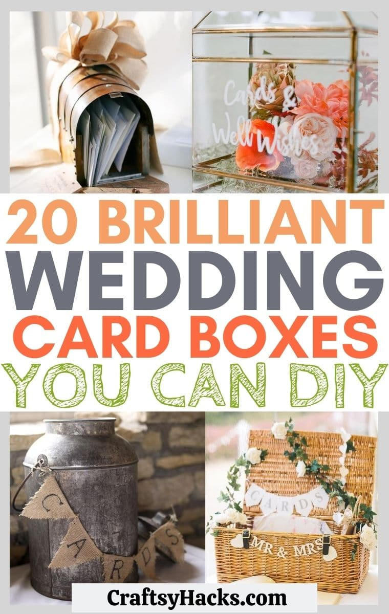 3 Wedding Card Box Ideas You Can DIY - Craftsy Hacks