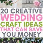 diy wedding crafts