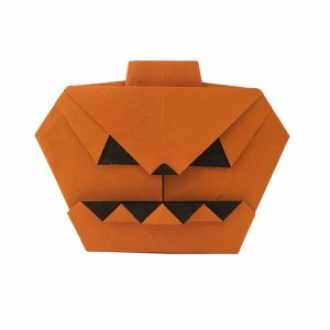 Origami Jack-O-Lantern