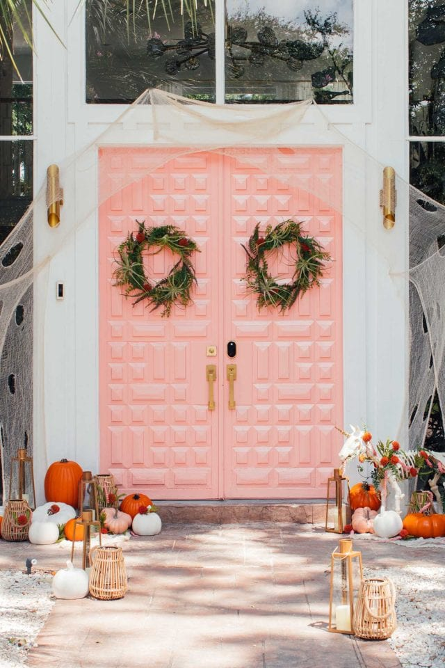 Pastel Door Decor