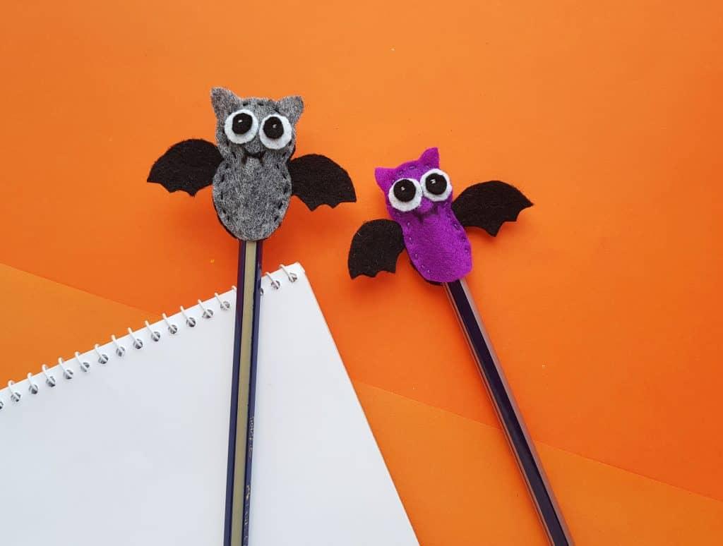 Mini Bat Pencil Topper