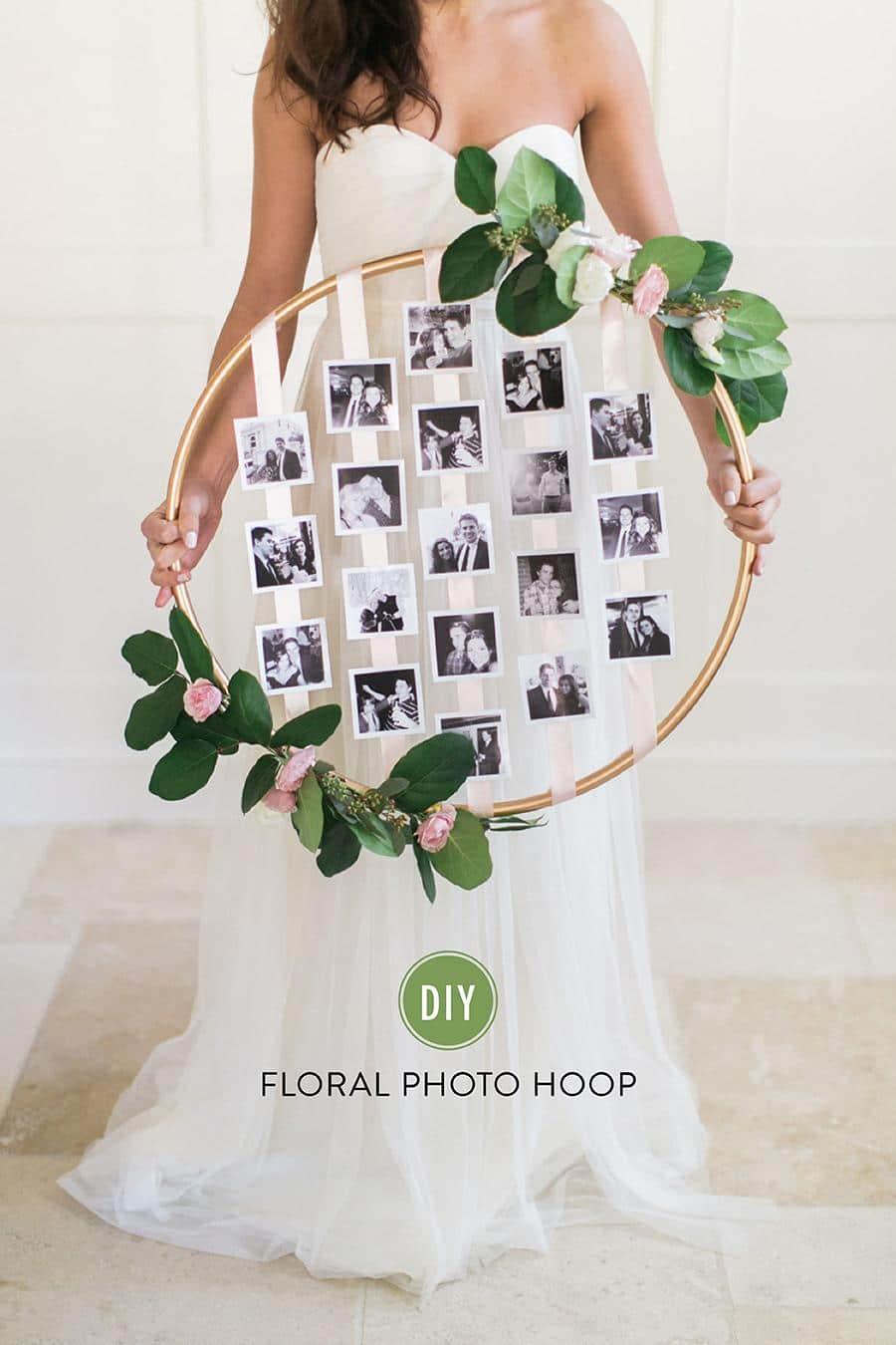 DIY Photo Hoop