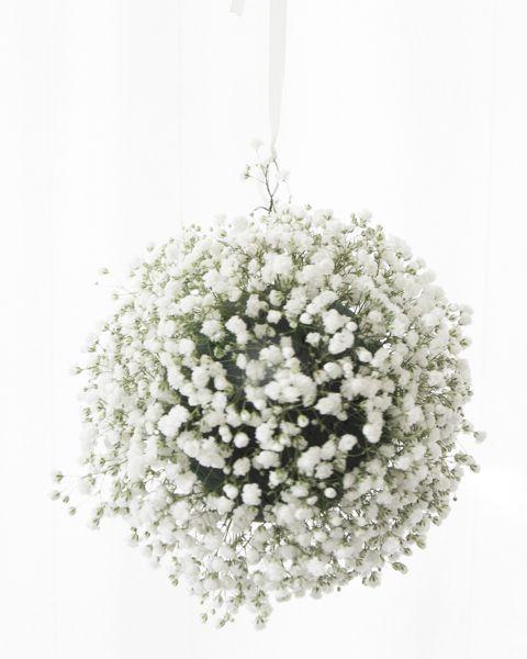 Hanging Floral Globes