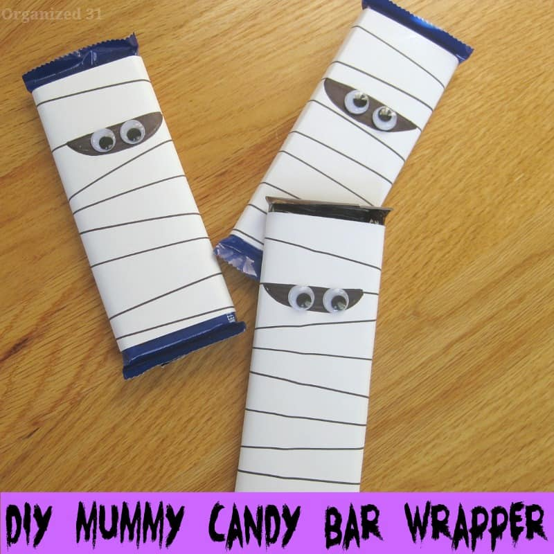 Mummy Chocolate Wrappers