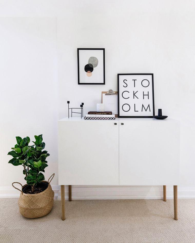 diy minimalistic sideboard