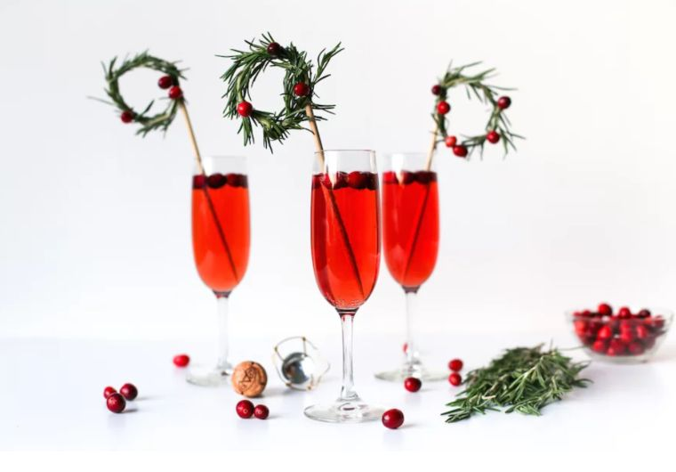 Wreath Drink Stirrers