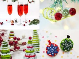20 Easy Christmas Crafts for Adults