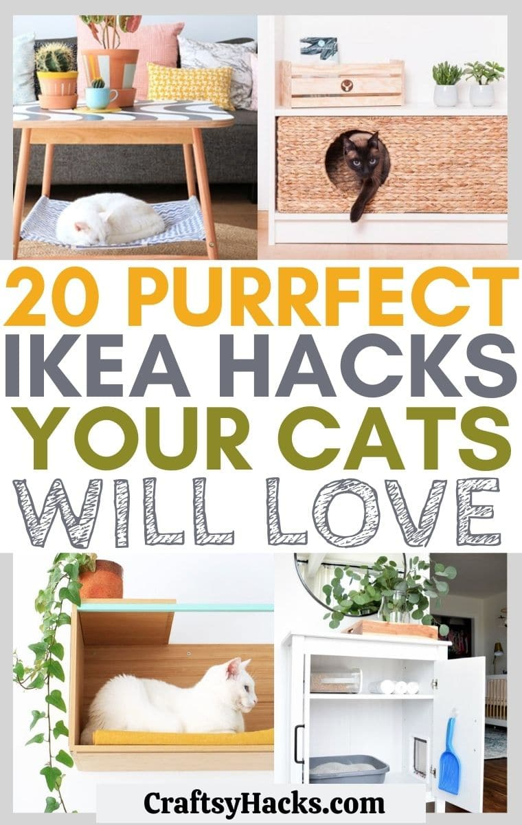 20 Creative Ikea Hacks For Cats Craftsy Hacks