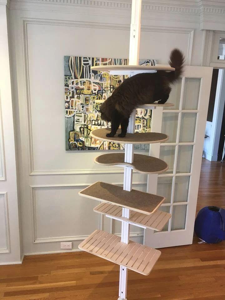 DIY Minimalist Cat Tree