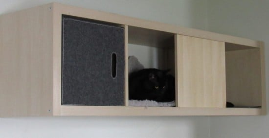 Wall-Mounted Cat Home